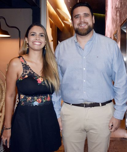 Sandra Ibarrola y Juan Gamarra.