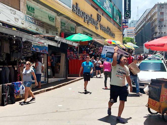 Desde inicios de este año se viene observando una buena dinámica en los comercios de Ciudad del Este.