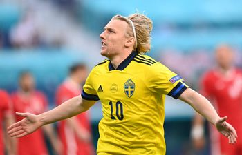 Forsberg anotó un doblete para el triunfo sueco.