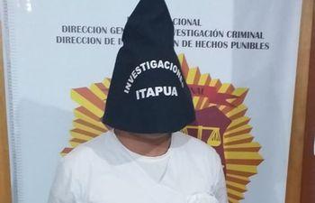 Juan Manuel Zalazar, enfermero detenido.