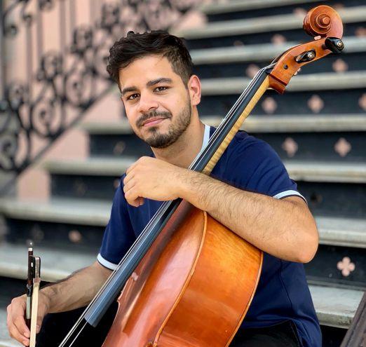 El violoncellista Francisco Álvarez debuta con la OSIC.