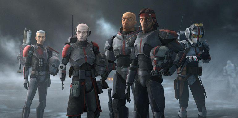 """""""Star Wars: The Bad Batch"""" se estrenó este martes por la plataforma de streaming Disney+."""