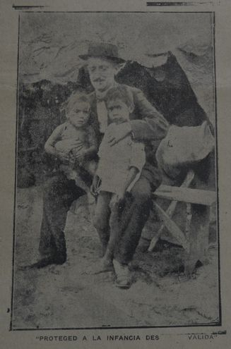 Una publicación de finales de 1918 pide proteger a los niños de la gripe española.