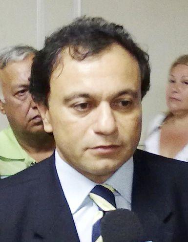 Adrián Salas, miembro del Consejo de la Magistratura que llegó a asociarse con un investigado por contrabando.