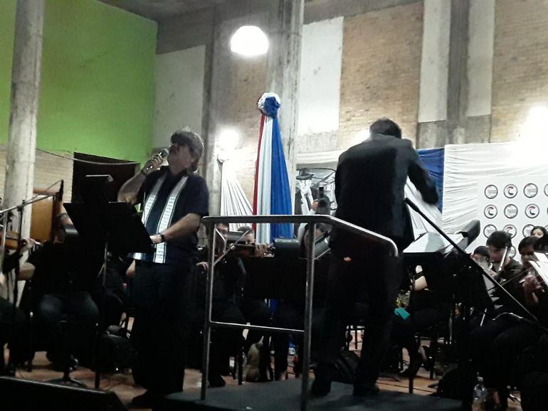 OSN y Ricardo Flecha deleitan con guaranias a los luqueños