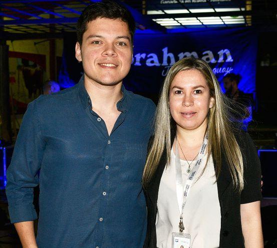 Jorge Arias y Tamara Pereira.