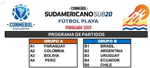 Fútbol Playa Sudamericano Sub 20
