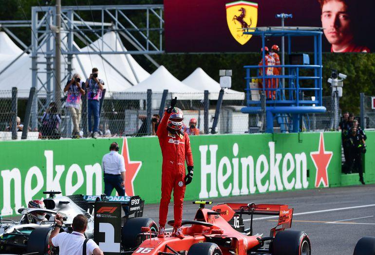 Charles Leclerc, Ferrari, Fórmula 1.