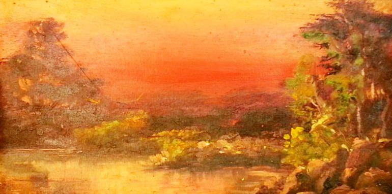 Impactante manejo de colores. Con pinceladas muy sueltas, pero precisas, Ñúñez lograba un juego visual armónico en sus cuadros. Utilizaba la técnica del óleo para plasmar sobre soportes de madera bellas imágenes.