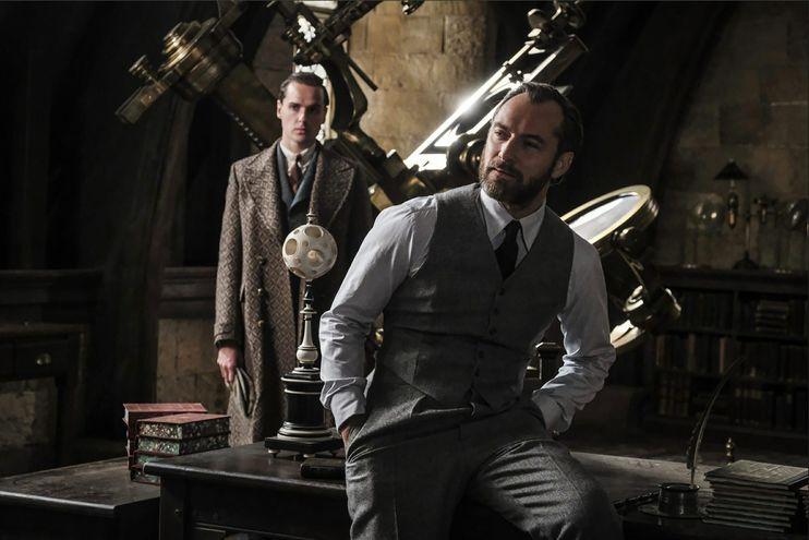"""Escena de """"Los crímenes de Grindelwald"""", de 2018. El año próximo comenzará el rodaje de la tercera película de """"Animales fantásticos""""."""