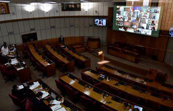Sesión del Senado 15 de junio