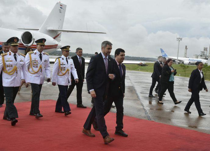 El Presidente llegó esta tarde de EE.UU.