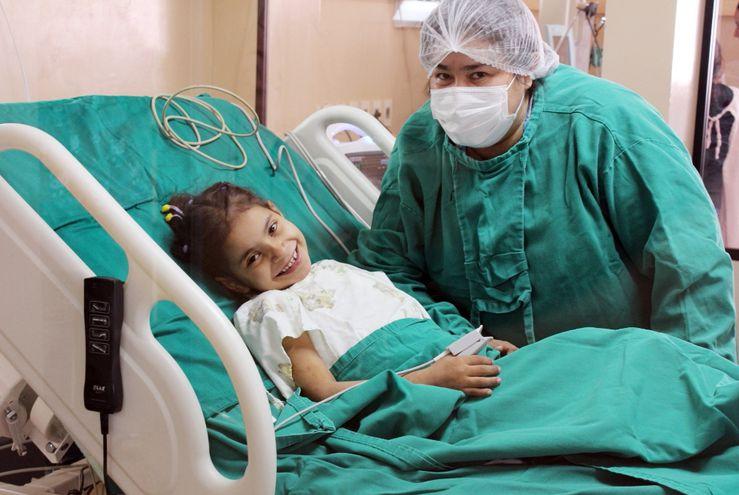 Durante la pandemia, el Hospital Pediátrico Niños de Acosta Ñu también realizó trasplantes cardíacos y de médula ósea.