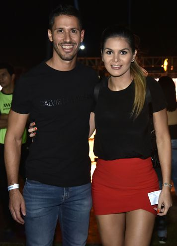 Néstor Montaner y Ángela Rolón.