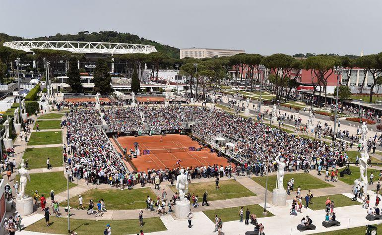 El torneo de tenis de Roma se disputará a puertas cerradas.