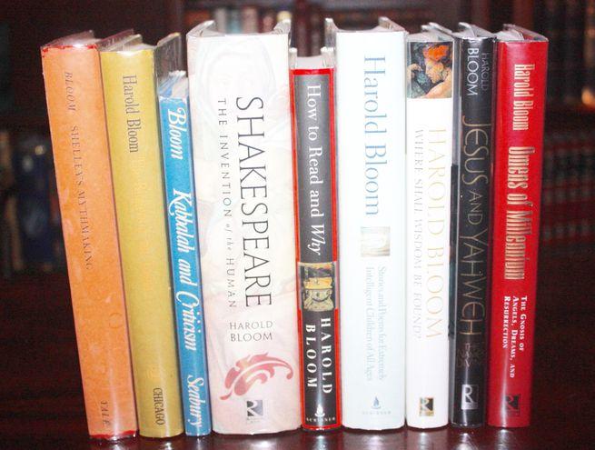 Desde su primer libro de 1959, Harold Bloom publicó más de 40