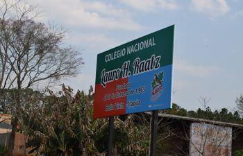 Colegio Nacional Lauro H. Raatz.