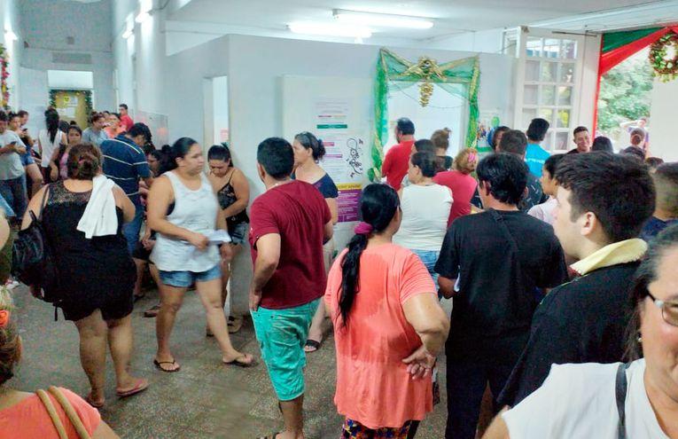 El dengue golpea con fuerza a Central y una de las ciudades más afectadas es Lambaré. El hospital de la ciudad está por lo general sobrecargado de pacientes que van a consultar de urgencia. Las clínicas periféricas del IPS también pasan por esta situación.