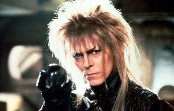 """David Bowie en la versión original de """"Laberinto"""", estrenada en 1986."""