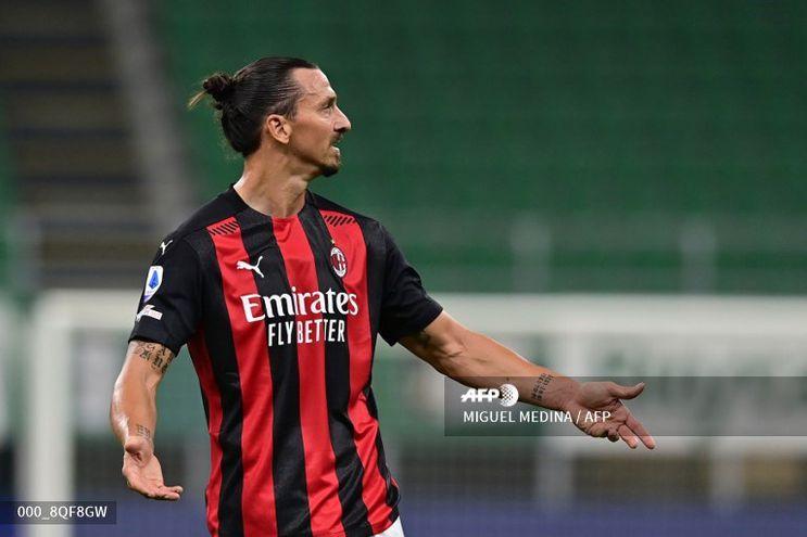 Ibrahimovic había comenzado muy bien la nueva temporada,