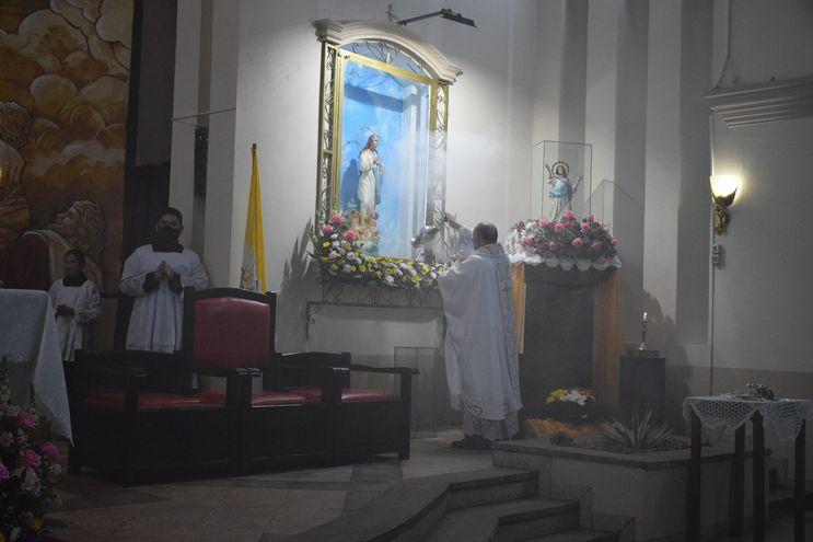 Hoy se desarrollará el octavo día del novenario en la parroquia Nuestra Señora de la Asunción.