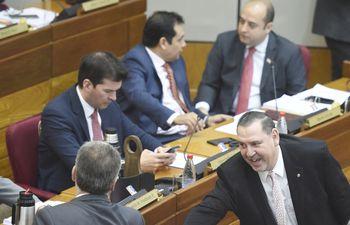 Javier Zacarías Irún, senador imputado por corrupción. Según el estudio, la libertad económica se ve condicionada por la poca garantía en el estado de derecho.
