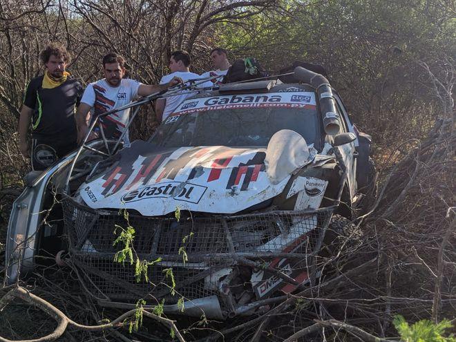 Javier Ugarriza, Skoda Fabia R5, Rally del Chaco.