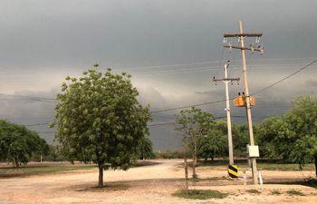 Las lluvias generadas durante anoche y esta mañana trajeron alivio en el Chaco Central, ya que la sequía fue prolongada.