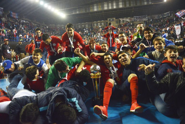 Cerro Porteño conquistó la Copa Libertadores de Futsal FIFA en 2016.
