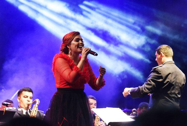 Melissa Hicks hizo músicas de su grupo Tekove.