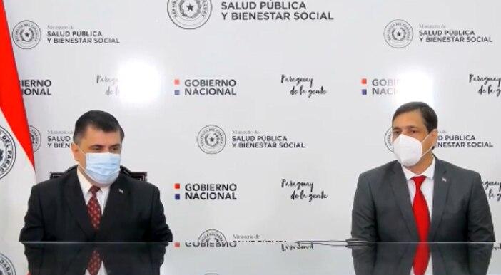 Asume el nuevo titular del IPS, Vicente Bataglia.