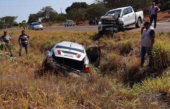 El accidente fatal ocurrió en el kilómetro 128 de la ruta PY05.