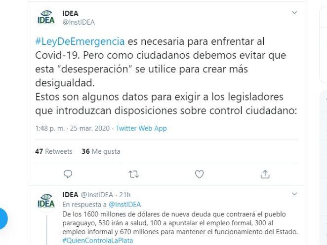 idea ley de emergencia