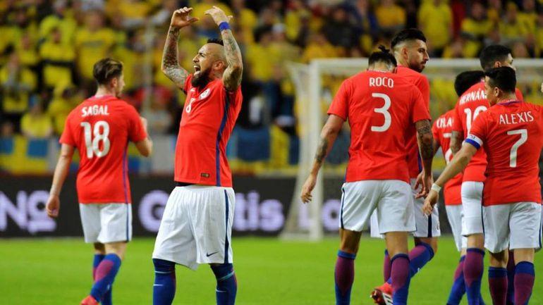 Chile jugará un partido amistoso ante Colombia.