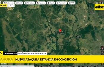 Ataque a estancia Nataly en Concepción.