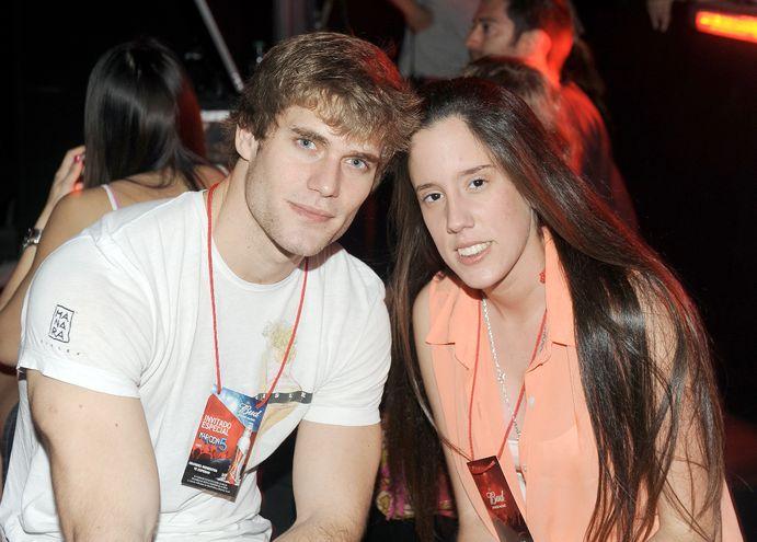 Felipe Rivas y Pamela Gómez.