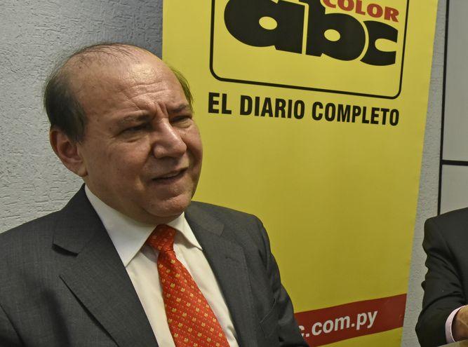 Bonifacio Ríos Ávalos, exministro de la Corte.
