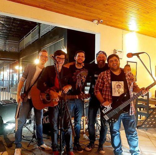 The Krauts, una de las bandas locales que tocarán en el festival.