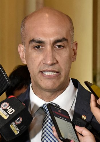 Dr. Julio Mazzoleni, ministro de Salud Pública.
