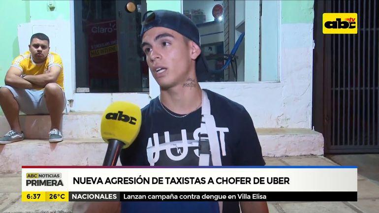 Nueva agresión de taxistas a chofer de uber