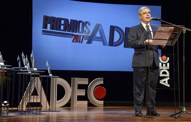 Juan Luis Ferreira, presidente de ADEC, director de la Cámara Nacional de Comercio y Servicio del Paraguay.