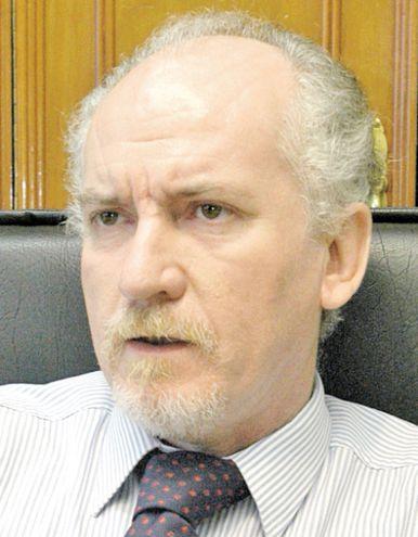 César Garay, ministro de la Corte Suprema de Justicia que solicitó una sesión extraordinaria de la máxima instancia judicial.