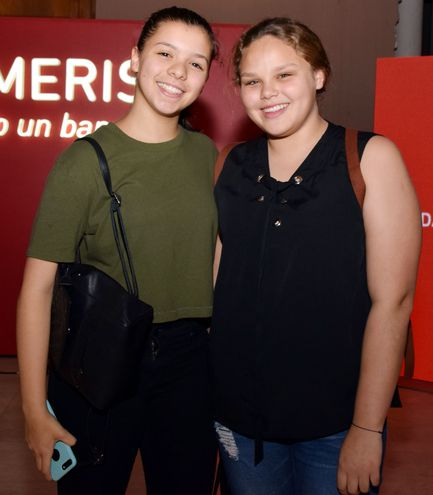 Nikita Camarasa  y  Luli Brítez.
