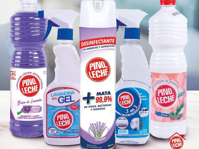 Los distintos productos de Pinoleche que sirven para prevenir enfermedades.