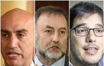 El ex ministro de Salud Julio Mazzoleni, el ex ministro de Hacienda Benigno López y el director de Vigilancia Sanitaria Guillermo Sequera fueron denunciados en la Fiscalía.