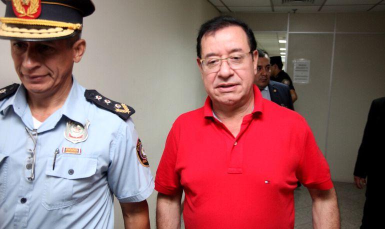 El diputado por Colorado Añetete, Miguel Jorge Cuevas, está preso en el marco del proceso  por supuesto enriquecimiento ilícito y declaración falsa.