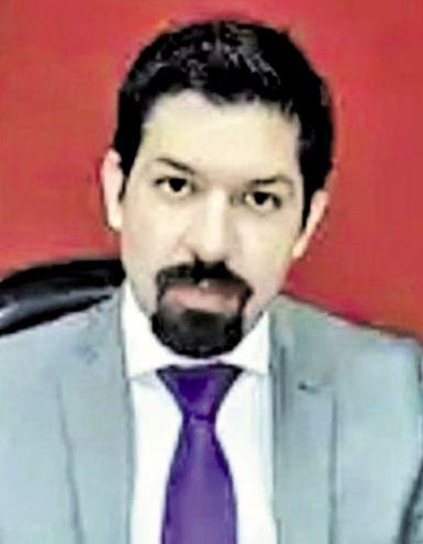 Osmar David Legal Troche, fiscal de la Unidad de Delitos Económicos y Anticorrupción. Imputó y solicitó prisión preventiva para ambos.
