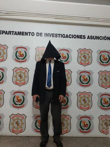 Rogelio Rojas Cáceres detenido por supuesto abuso sexual.