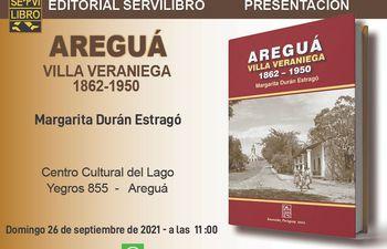 Portada del libro que lanzará hoy Margarita Durán Estragó.