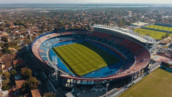 Estadio de Cerro Porteño donde se jugará el superclásico de esta tarde.